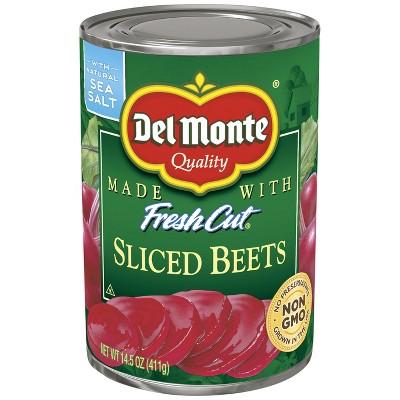 Del Monte Fresh Cut Sliced Beets 14.5oz