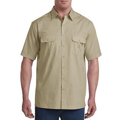 Harbor Bay Short-Sleeve Co-Pilot Sport Shirt - Men's Big and Tall
