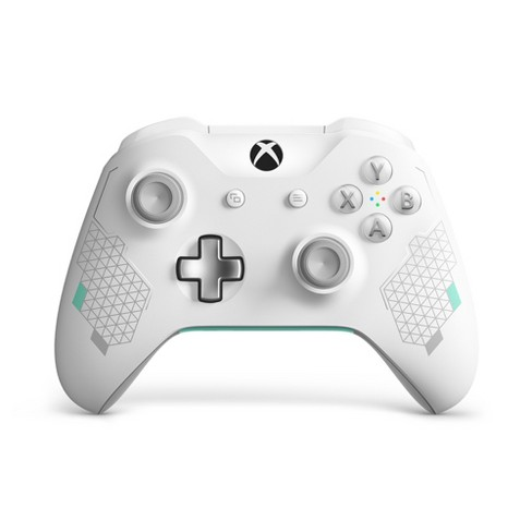 Xbox One Sport Wireless Controller - White/Teal - image 1 of 4