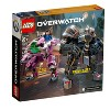 LEGO Overwatch D.Va and Reinhardt 75973 Mech Building Kit with Overwatch Character Minifigures - image 3 of 4