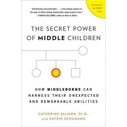 The Secret Power of Middle Children - by  Catherine Salmon & Katrin Schumann (Paperback) - image 1 of 1