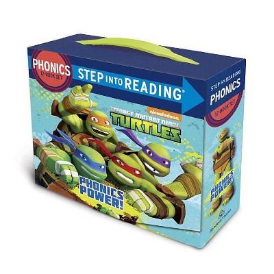 Phonics Power! (Teenage Mutant Ninja Turtles) - (Step Into Reading) by  Jennifer Liberts (Mixed Media Product)