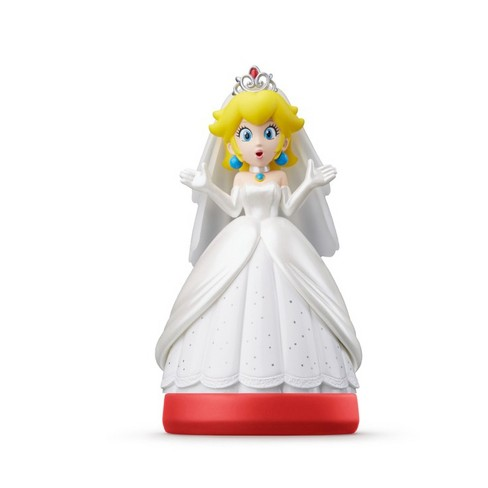 Nintendo Peach Wedding Outfit amiibo Figure - image 1 of 1