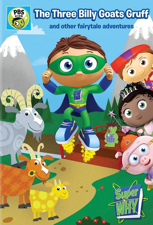 Super why:Three billy goats gruff (DVD) - image 1 of 1