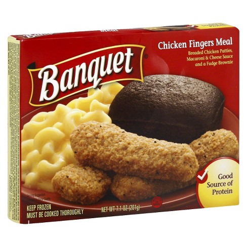 Banquet Frozen Chicken Fingers Meal - 7.1oz - image 1 of 1