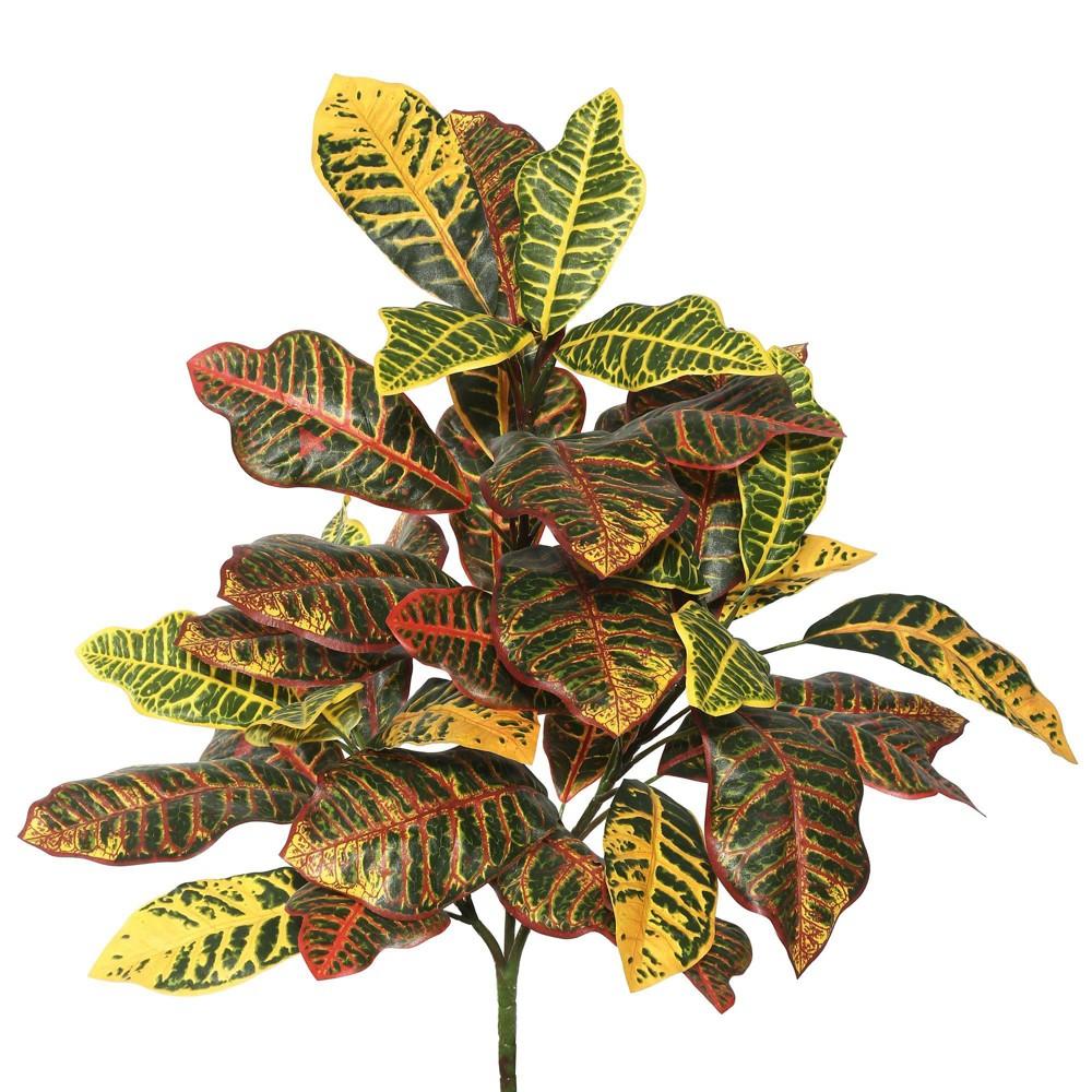 Compare Artificial Croton Plant (34) Orange - Vickerman