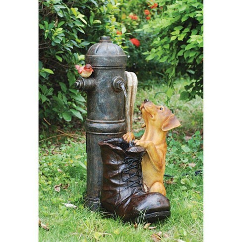 Fire Hydrant Sculptural Fountain - Acorn Hollow - image 1 of 4