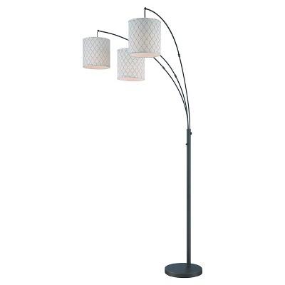 Lite Source Vasanti 3-LT Floor Lamp - Dark Bronze