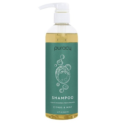 Puracy Citrus & Mint Sulfate-Free Natural Daily Shampoo - 16 fl oz