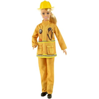 ​Barbie Careers Firefighter Doll Playset
