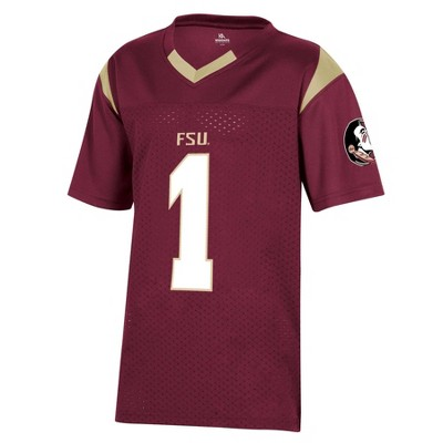 NCAA Florida State Seminoles Boys' Short Sleeve Jersey