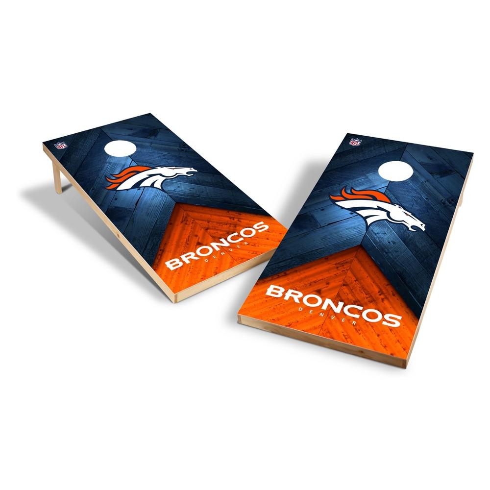 NFL Denver Broncos 2x4ft Tailgate Toss Cornhole Game