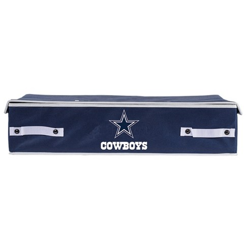 NFL Franklin Sports Dallas Cowboys Under The Bed Storage Bins - image 1 of 3