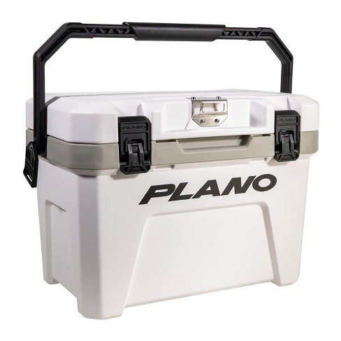 Plano Frost 14 Quart Heavy Duty Beverage Cooler with Built In Bottle Opener and Removable Dry Basket for Camping, Tailgating, Outdoor Events - image 1 of 4