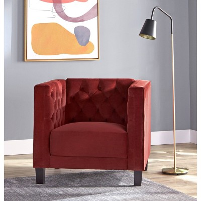 Modern Chesterfield Back Chair - Lifestorey