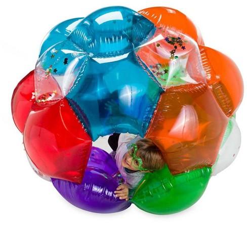 Light-Up Kaleidoscopic Gbop - Great Big Outdoor Play Ball, Multi - Hearthsong - image 1 of 2