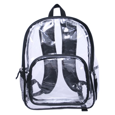 "Crckt 17"" Backpack - Clear - image 1 of 7"