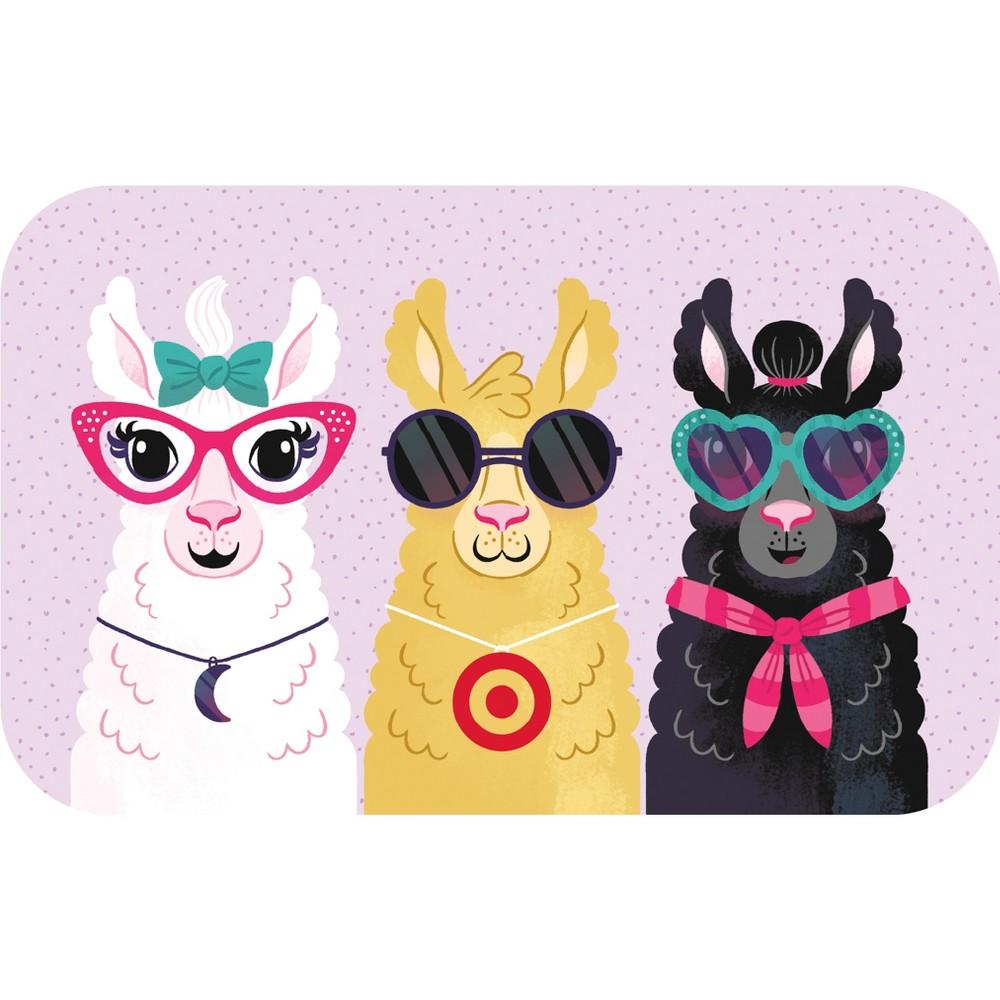 Llamas GiftCard $30, Target Giftcards