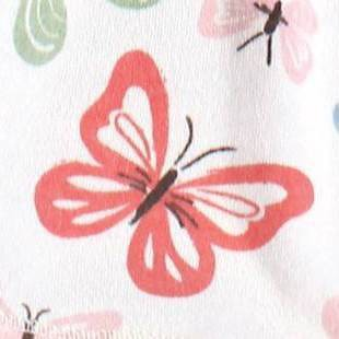 Butterflies - Pink/White
