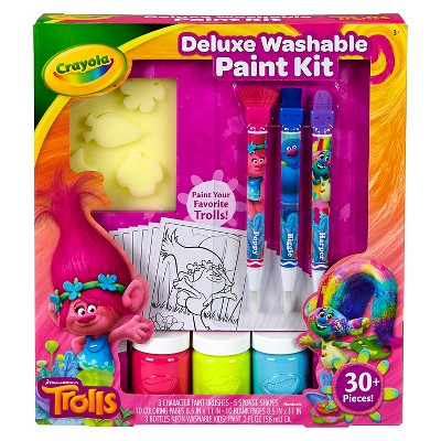 Crayola® Trolls Deluxe Washable Paint Kit