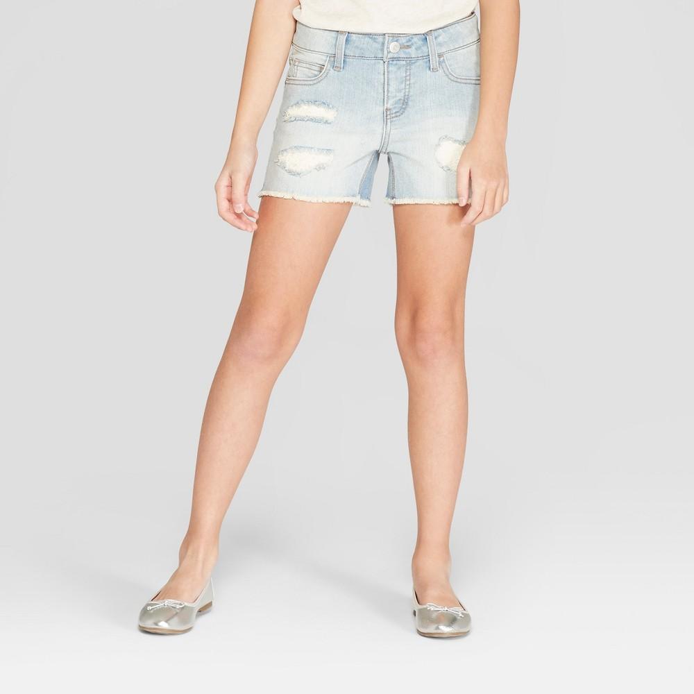 Cat /& Jack Shorts Girls Boys Infant Red Cotton Drawstring Choice of Size