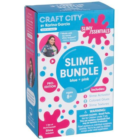 karina garcia make your own slime essentials pink blue by craft