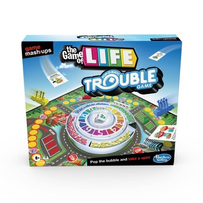 Game Mashups The Game of Life Trouble Game