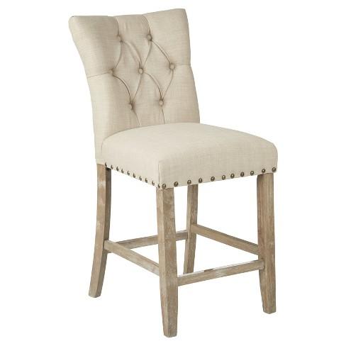 Barstool Burlap Osp Home Furnishings, 24 Inch Height Chairs
