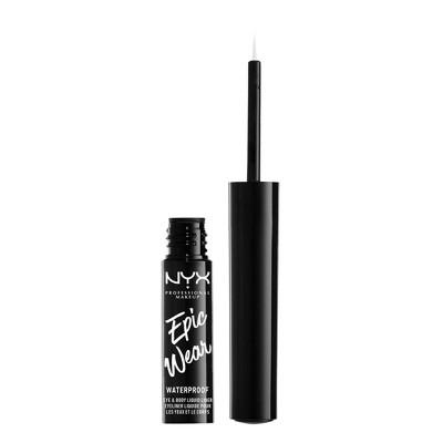 NYX Professional Makeup Epic Wear Eye & Body Long-Wear Liquid Liner - 0.07 fl oz