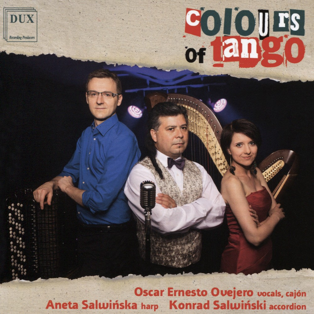 Konrad Salwinski - Colours Of Tango (CD)