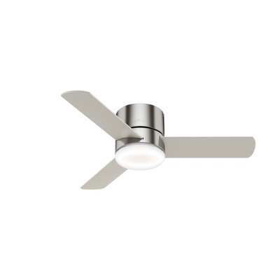 "44"" Minimus Low Profile Ceiling Fan with Remote - Hunter"
