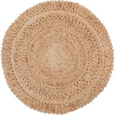 Earnestine Solid Woven Rug - Safavieh