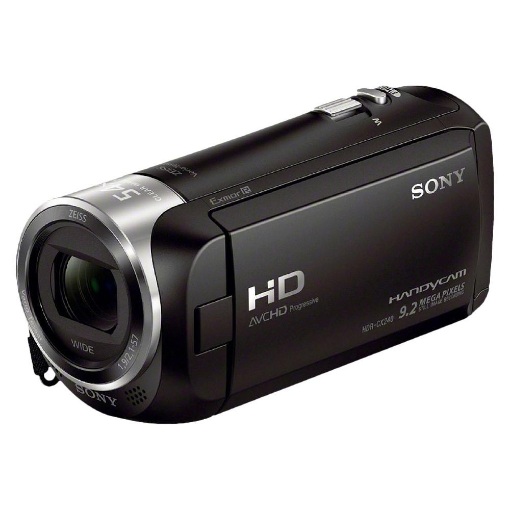 Sony HD Flash Memory Digital Camcorder with 27x Optical Zoom - Black