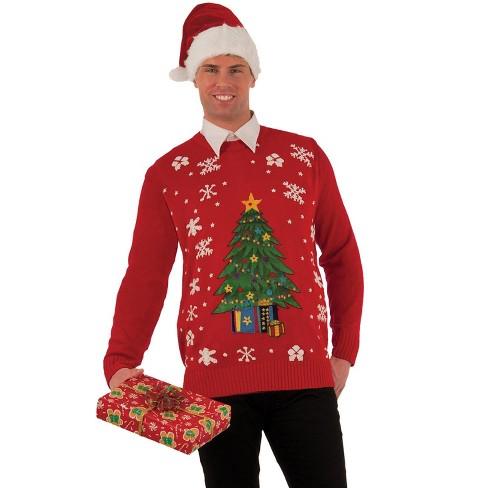Forum Novelties Christmas Tree Sweater Adult Costume - image 1 of 2