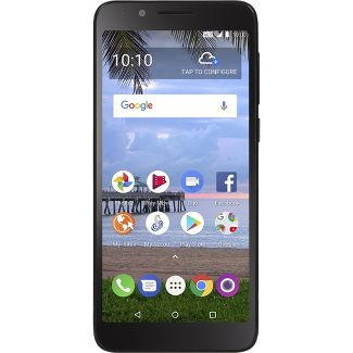 Simple Mobile Prepaid TCL LX A502DL (16GB) - Black