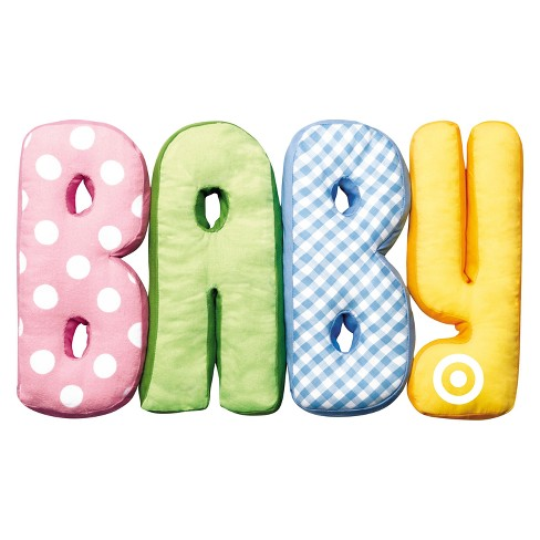 Baby Pillow Letters Gift Card - image 1 of 1