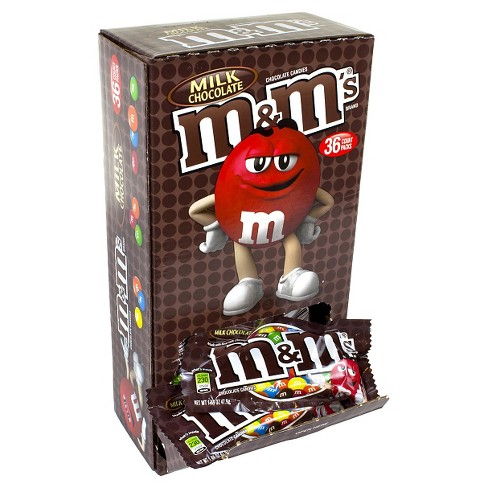 M&M's Milk Chocolate Candies - 1.69oz/36ct - image 1 of 1