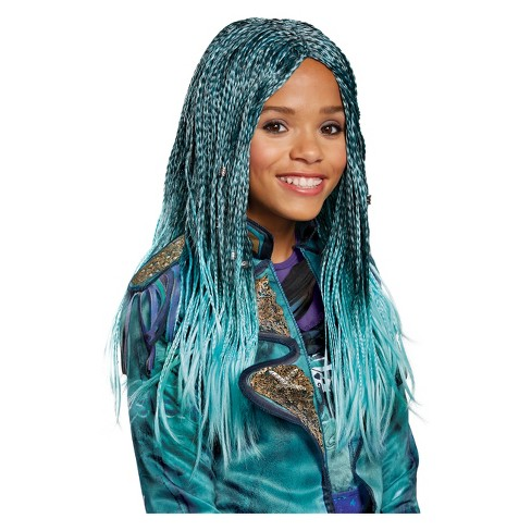 girls descendants 2 uma halloween costume wig target