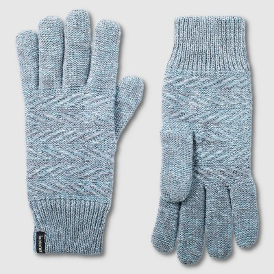 Isotoner Women's Recycled Knit Gloves - One Size