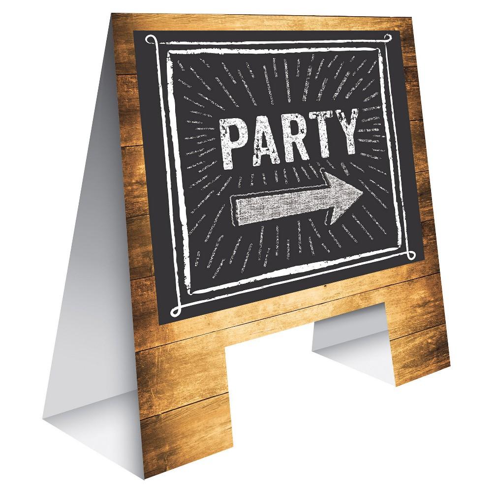 Cheers & Beers Tabletop Easel