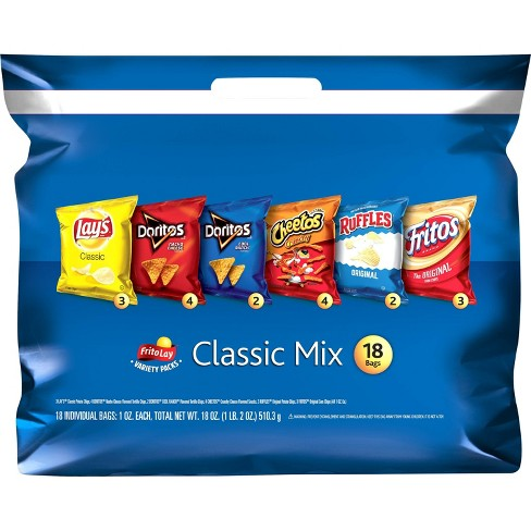 Frito-Lay Variety Pack Classic Mix - 18ct - image 1 of 4