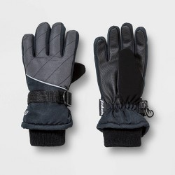 Boys' Promo SKI Gloves with Reflective - C9 Champion® Dark Gray