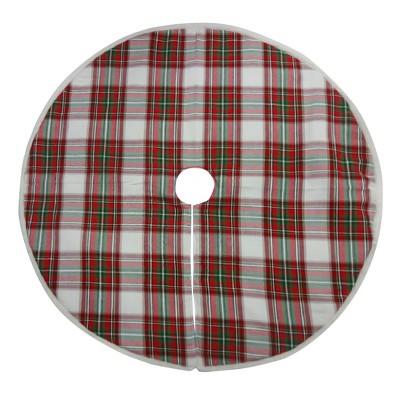 Plaid Christmas Tree Skirt Red/Green - Wondershop™