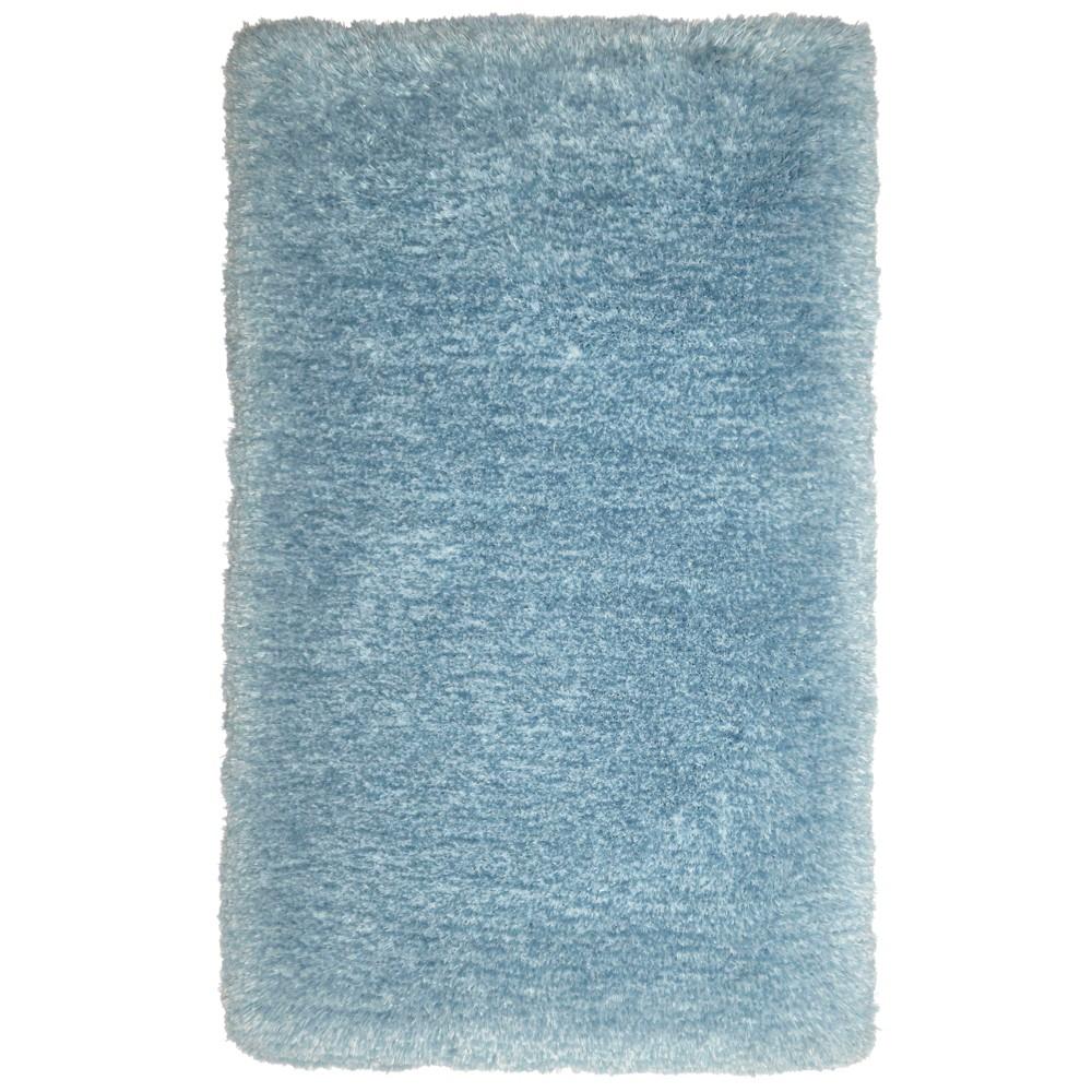 Nicole Miller Casey Silla 2'x3' Kids Shag Accent Rug Blue - Home Dynamix