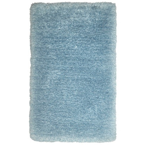 Nicole Miller Casey Silla 3'x5' Kids Shag Accent Rug Blue - Home Dynamix - image 1 of 4