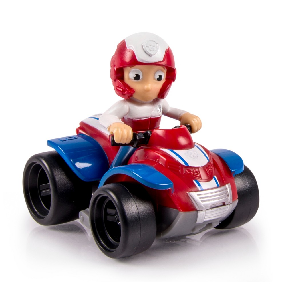 Paw Patrol Rescue Racers - Ryder Atv, Red
