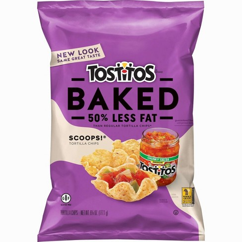 Tostitos Oven Baked Scoops! Tortilla Chips - 6.25oz - image 1 of 2