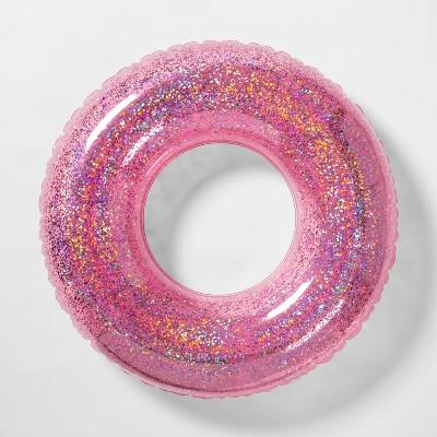Glitter Swim Tube Purple - Sun Squad™