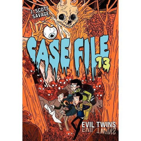 Evil Twins - (Case File 13) by  J Scott Savage (Hardcover) - image 1 of 1