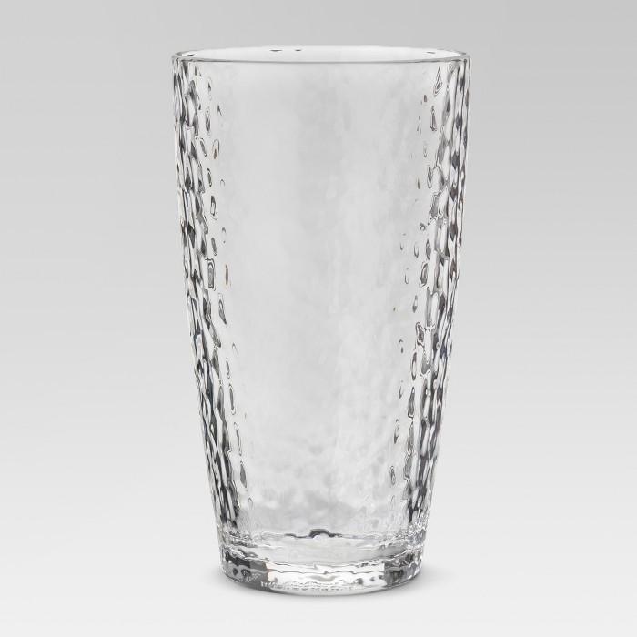 Plastic Tall Textured Tumbler 18oz - Threshold™ - image 1 of 1